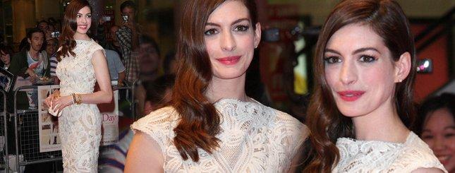 Anne Hathaway nie wygląda jak księżniczka Disneya…