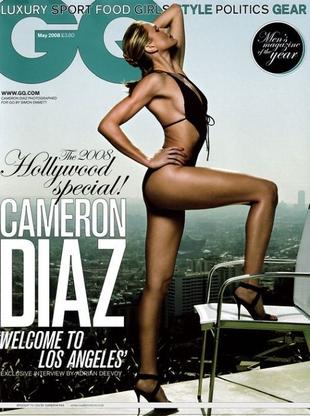 Cameron Diaz chwali się figurą