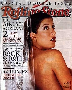 Tori Spelling topless na rodzinnej fotce (FOTO)