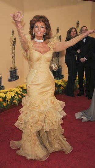 Sophia Loren martwi się o chude aktorki