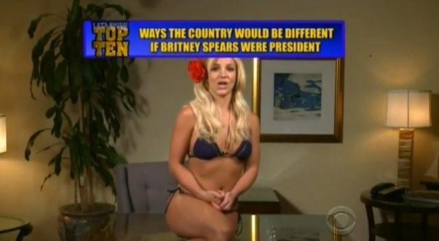 Gdyby Britney Spears była prezydentem... (VIDEO)