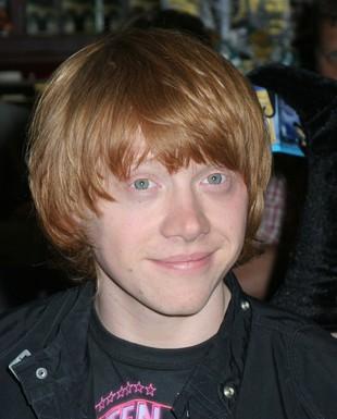 Rupert Grint z Harry'ego Pottera ma świńską grypę