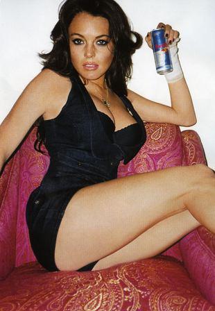 Lindsay Lohan aniołem…