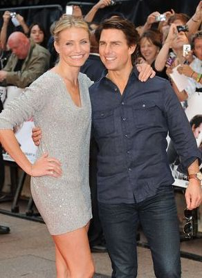 Tom Cruise i Cameron Diaz na czerwonym dywanie (FOTO)