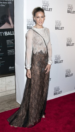 Sarah Jessica Parker zmienia styl na babciny? (FOTO)