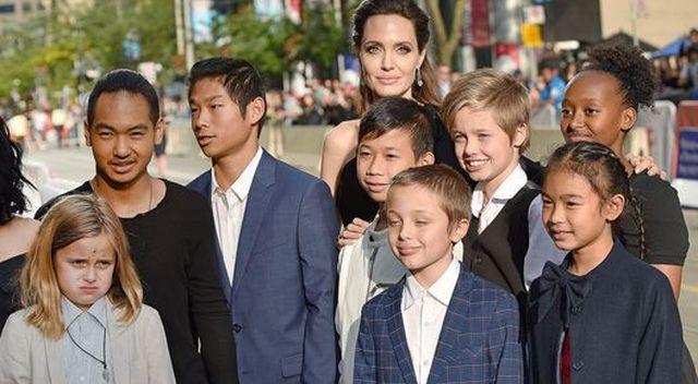Gdy dzieci Angeliny Jolie weszły do kuchni, zamarły. Opadły im szczęki