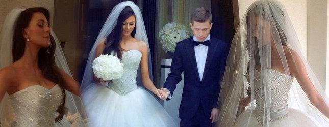 Zdjęcia ze ślubu Jakuba Koseckiego i jego żony (FOTO)