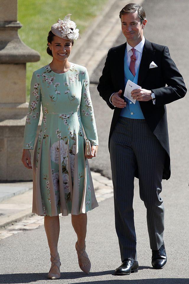 Wpadka na ślubie Meghan i Harry'ego! Suknia Pippy to PLAGIAT!