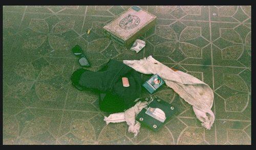 Niepublikowane zdjęcia z miejsca, gdzie znaleziono Cobaina