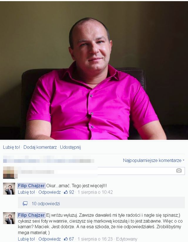 Ostre spięcie na linii Filip Chajzer - Wróżbita Maciej