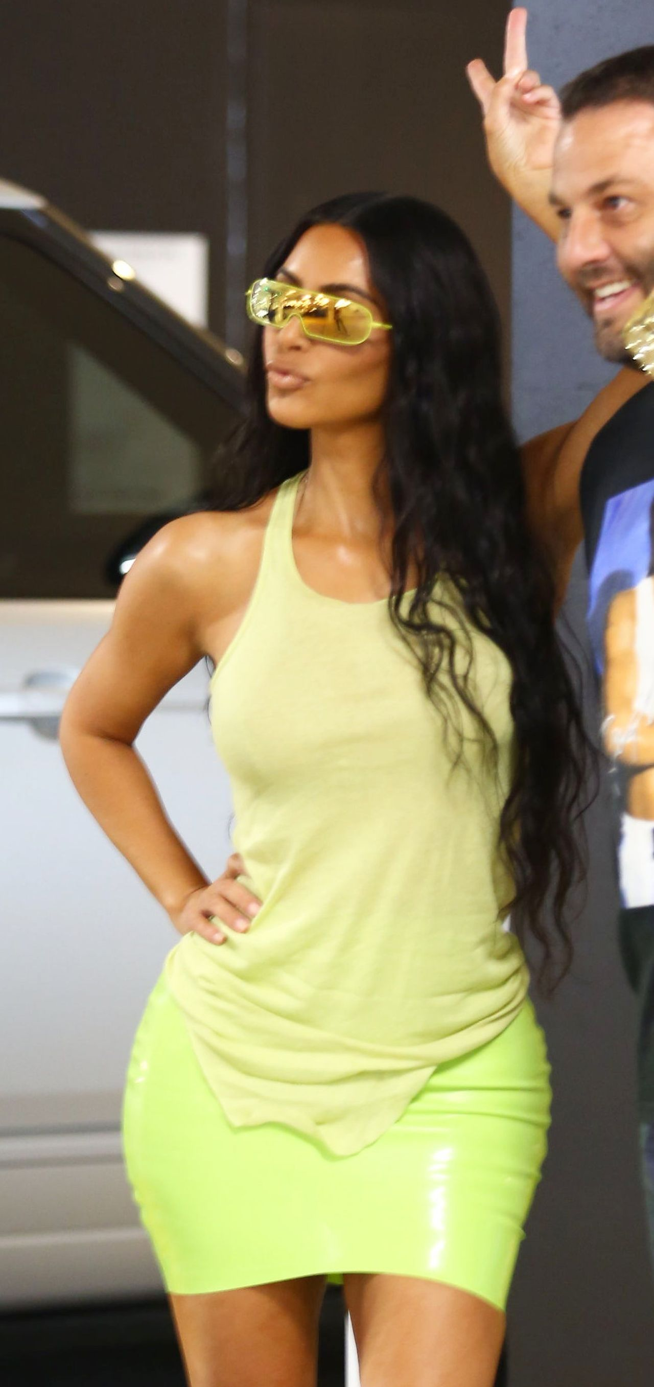 Tak wyglądała pupa Kim Kardashian przed OPERACJAMI