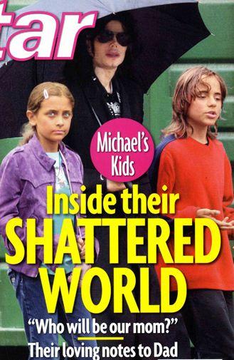 Dzieci Michaela Jacksona wygłupiały się na stypie