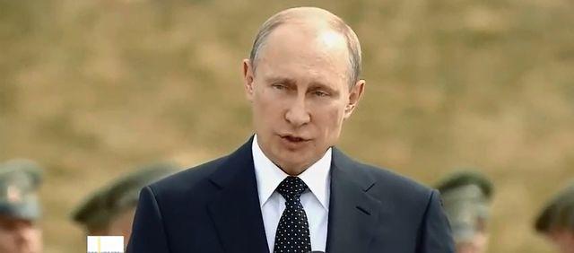 Ptak sprawiedliwości narobił na Putina