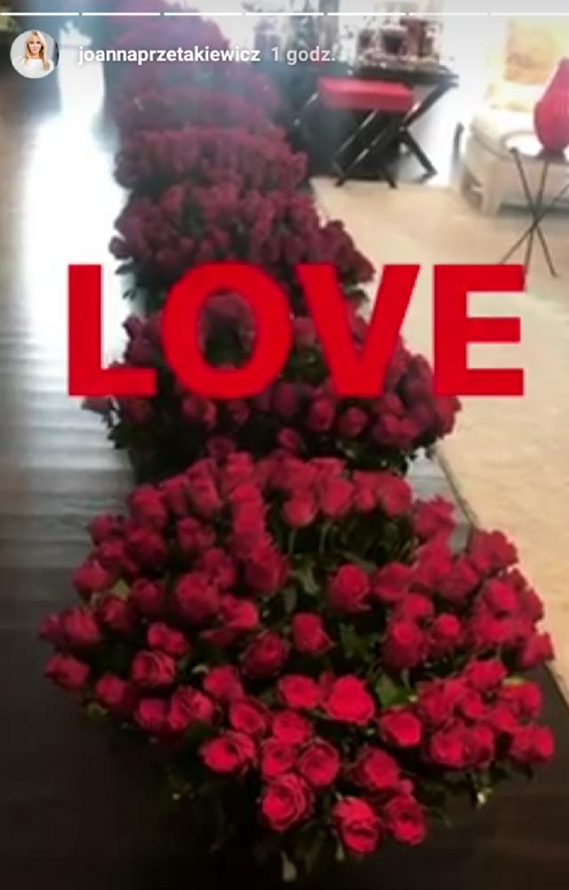 Joanna Przetakiewicz ma kwiaciarnie pod sypialnią!