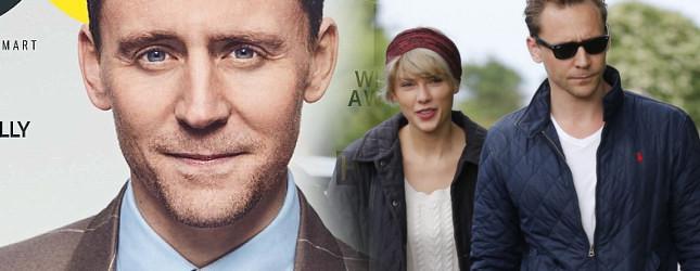 Tom Hiddleston bardzo SZCZERZE o związku z Taylor Swift