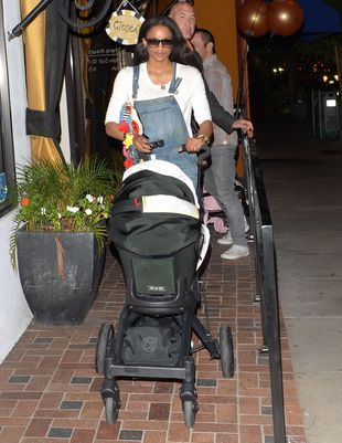 Ciara zabrała synka na zakupy (FOTO)