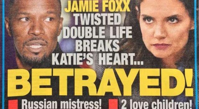 Koniec spokoju Katie Holmes. Jamie ma rosyjską kochankę!