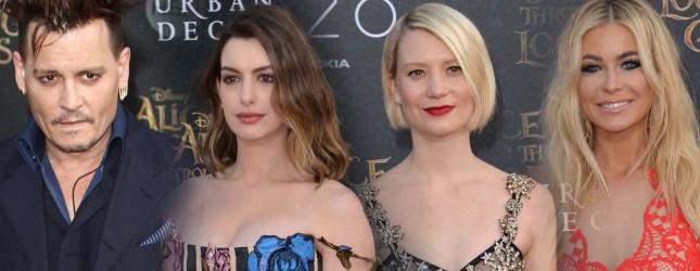 Gwiazdy na premierze Alicji po drugiej stronie lustra (FOTO)