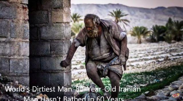 najbrudniejszy człowiek świata