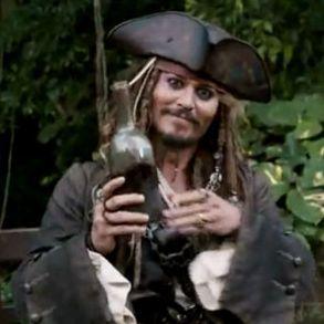 Johnny Depp promuje kolejną część Piratów z Karaibów