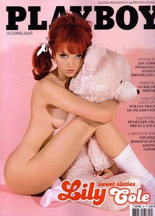 Lily Cole w Playboyu