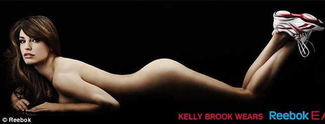 Kelly Brook nago dla Reeboka (FOTO)
