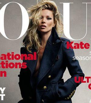 Kate Moss po raz 30. dla Vogue'a (FOTO)
