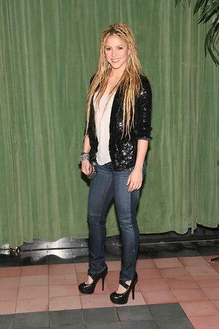 Shakira w stylu grunge (FOTO)