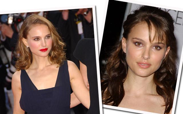 Natalie Portman w makijażu czy bez?