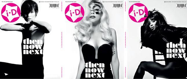 Lady Gaga, Moss i Campbell na okładce i-D (FOTO)