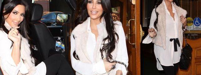 Kim Kardashian jak zawsze perfekcyjna (FOTO)