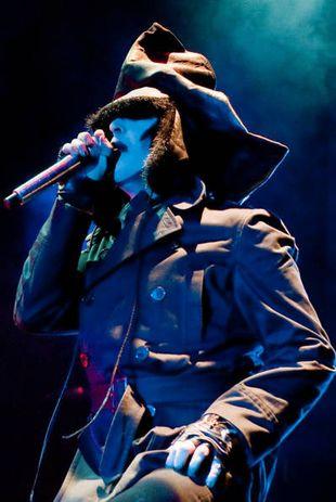 Marilyn Manson bez makijażu (FOTO)
