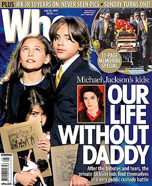 Dzieci Jacksona pójdą do normalnej szkoły