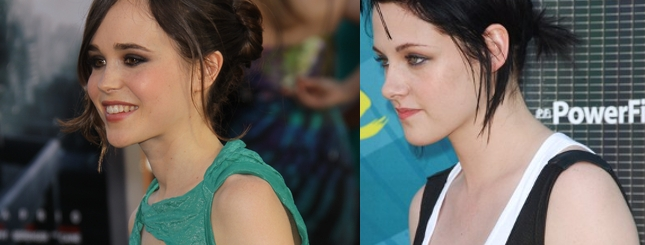 Ellen Page garbi się jak Stewart na początku kariery (FOTO)
