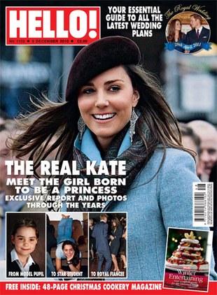 Kate Middleton chce przytyć przed ślubem