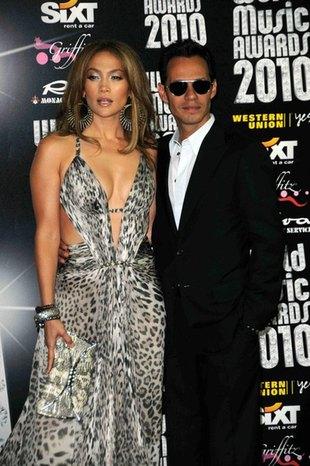 Zakochana Jennifer Lopez z Markiem i dziećmi