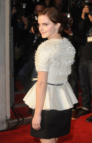 Skromna Emma Watson (FOTO)
