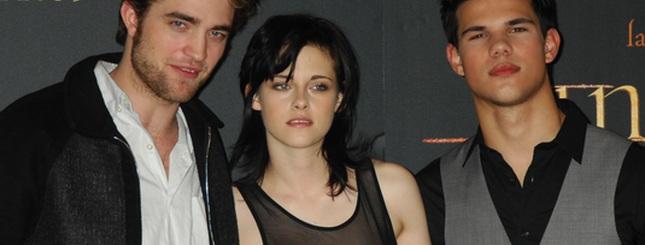 Pattinson, Stewart i Lautner w Madrycie (FOTO)