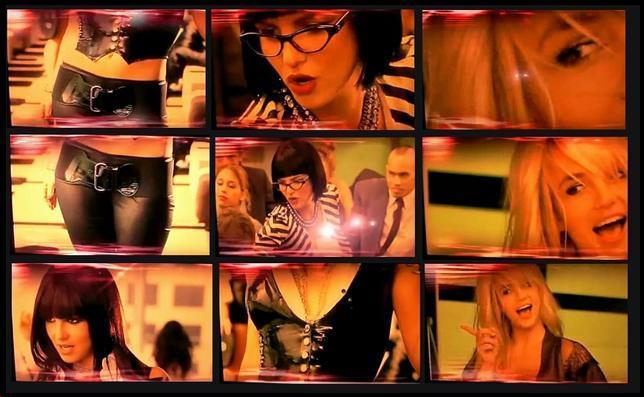 Zdjęcia Britney do teledysku Womanizer