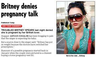 Britney Spears nie jest w ciąży