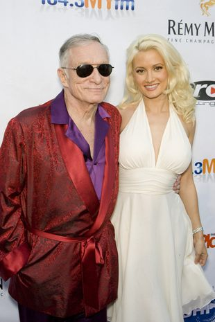 Holly Madison zerwała z Hugh Hefnerem