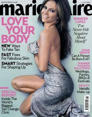 Jennifer Lopez w Marie Claire (FOTO)