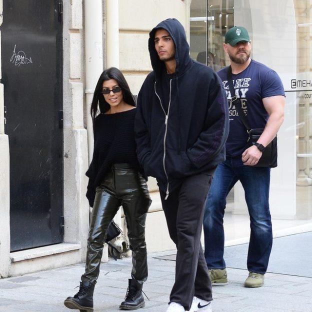 Kourtney Kardashian i Younes Bendjima w Paryżu