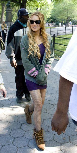 Lindsay Lohan radzi się Angeliny Jolie