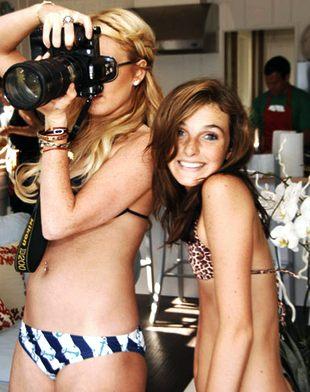 Ali chce być jak Lindsay Lohan