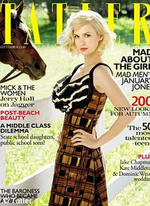 January Jones musiała przytyć do czwartego sezonu Mad Men