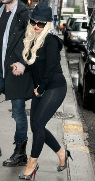 Christina Aguilera u Davida Lettermana (FOTO)