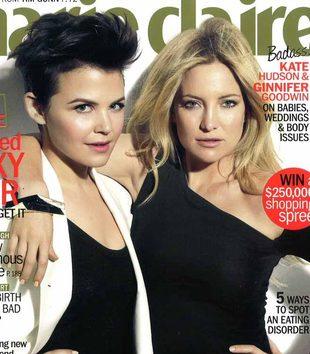 Kate Hudson i Ginnifer Goodwin w Marie Claire (FOTO)