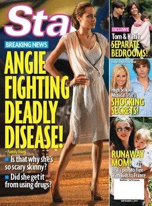 Angelina Jolie przyjmuje dziennie 600 kalorii?