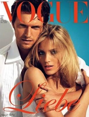 Ania Rubik i Sasha Knezevic na okładce Vogue (FOTO)